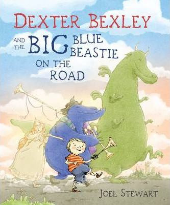 Dexter Bexley and the Big Blue Beastie on the Road (9780385617727)