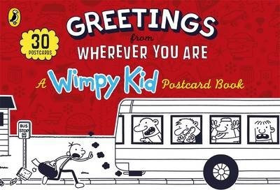 Greetings from Where Ever You Are: Wimpy Kid Postcard Book (9780141355115)