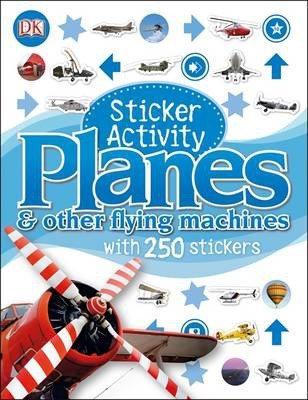 Planes Sticker Activity Book (9781409328759)