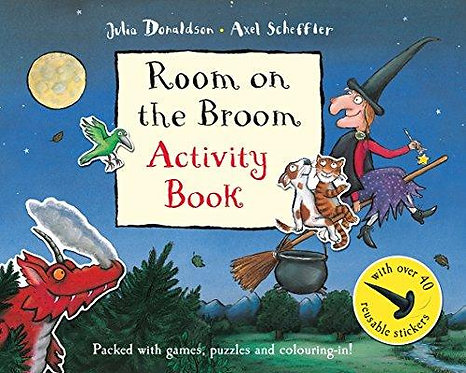 Room on the Broom Activity Book (9781447237891)