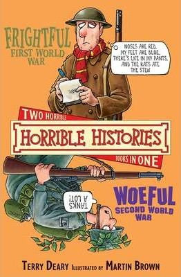 Horrible Histories: Frightful First and Woeful Second World Wars (9781407109077)