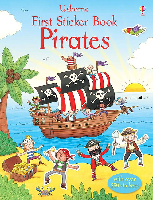 Pirates First Sticker Book (9781409556725)