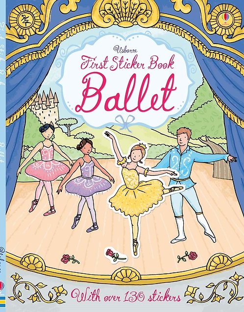 Ballet First Sticker Book (9781409582427)
