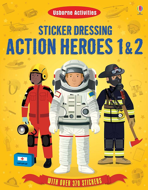 Action Heroes 1 and 2 Sticker Dressing (9781409566489)