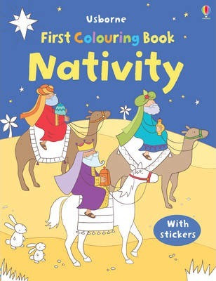Nativity First Colouring Book (9781409520450)