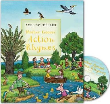 Mother Goose's Action Rhymes (with CD) (9780230708464)