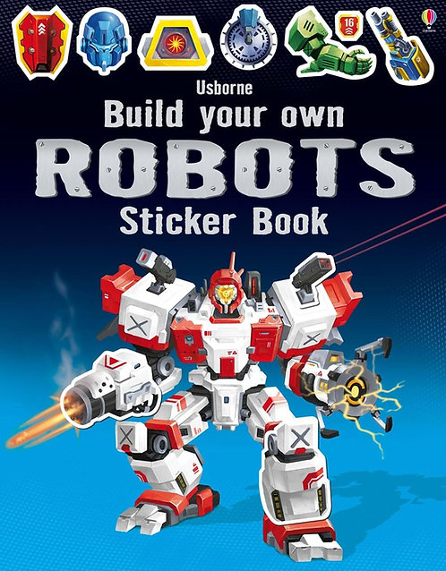 Build Your Own Robots Sticker Book (9781409581222)