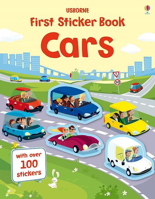 Cars First Sticker Book (9781409582434)