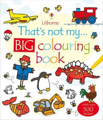 That's Not My... Big Colouring Book (9781409537069)
