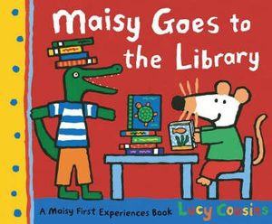 Maisy Goes to the Library (9781406306965)