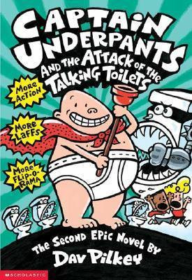 Captain Underpants and the Attack of the Talking Toilets (9780590634274)