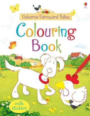 Farmyard Tales Colouring Book (9781409524410)