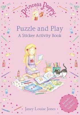 Princess Poppy Puzzle and Play: A Sticker Activity Book (9780552553438)