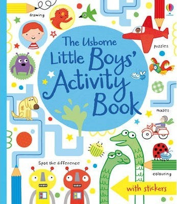The Usborne Little Boys' Activity Book (9781409549994)