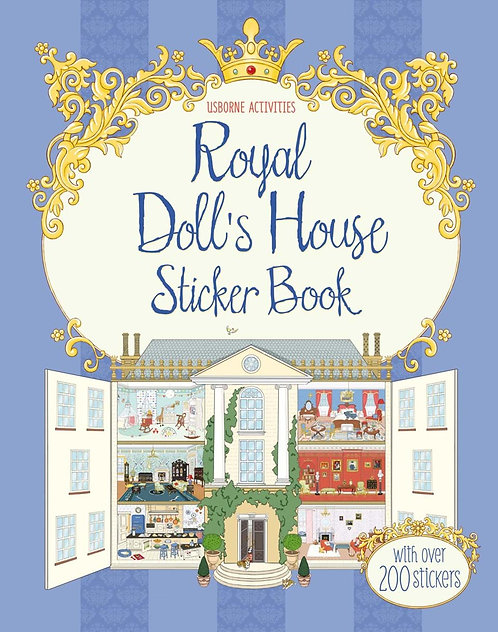 Royal Doll's House Sticker Book (9781409564300)