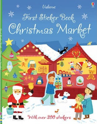 Christmas Market First Sticker Book (9781409556725)