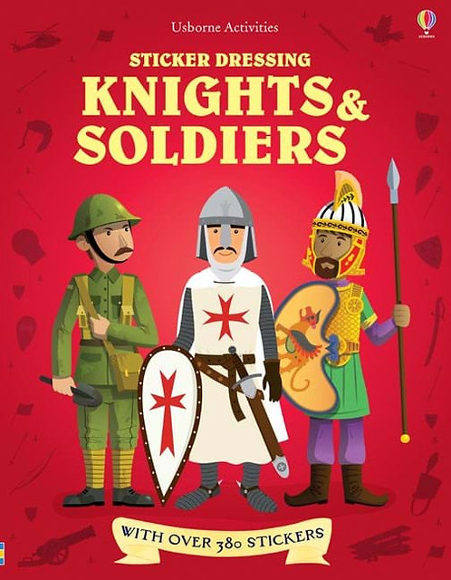 Knights and Soldiers Sticker Dressing (9781409554660)