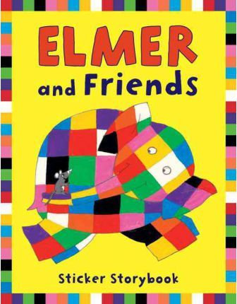 Elmer and Friends Sticker Storybook (9781842705353)