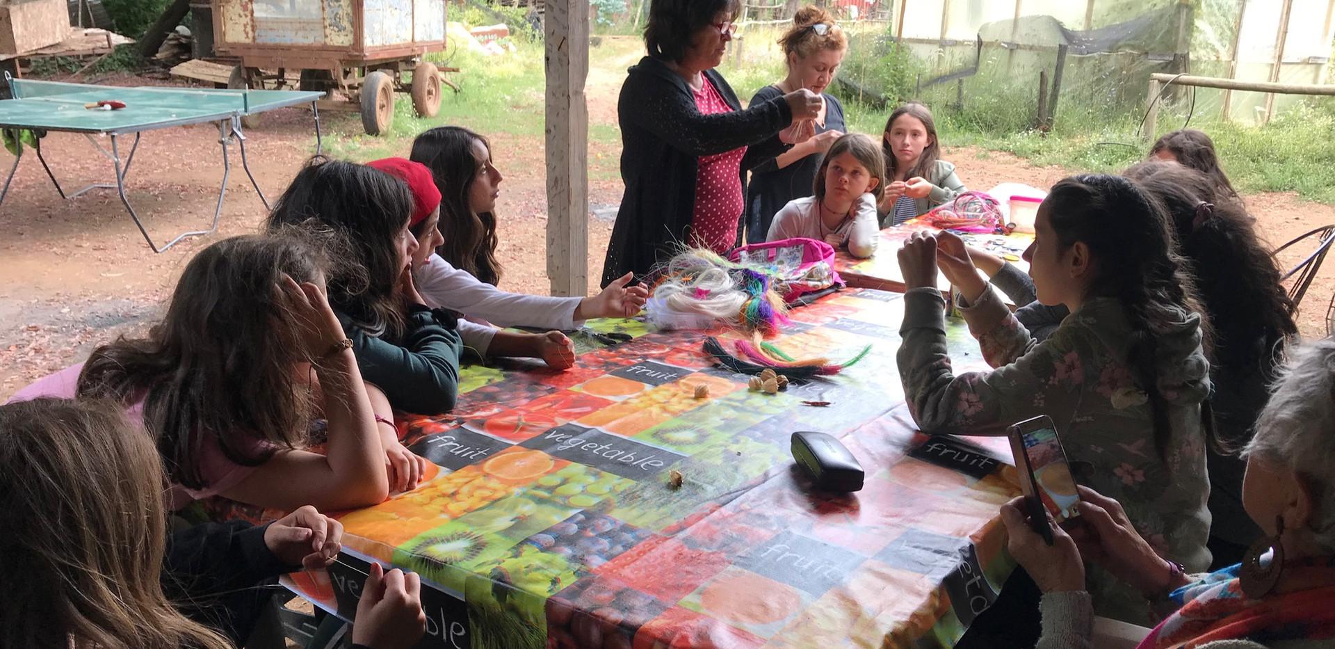 Aprendiendo y jugando en los campamentos de verano