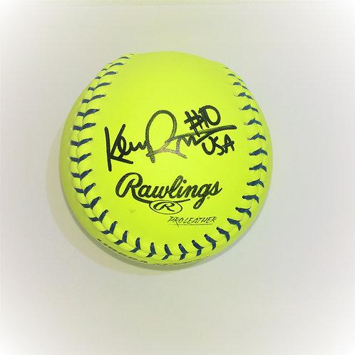Autographed Softball