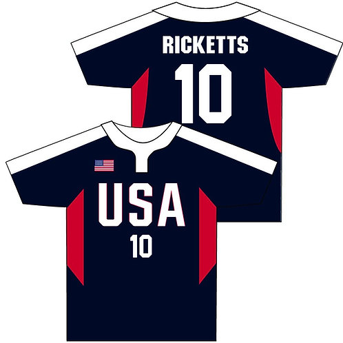 Autographed Team USA Jersey