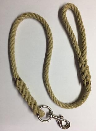 Laisse en corde 1 mètre