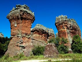 Região dos Campos Gerais - Parque Estadual de Vila Velha/PR