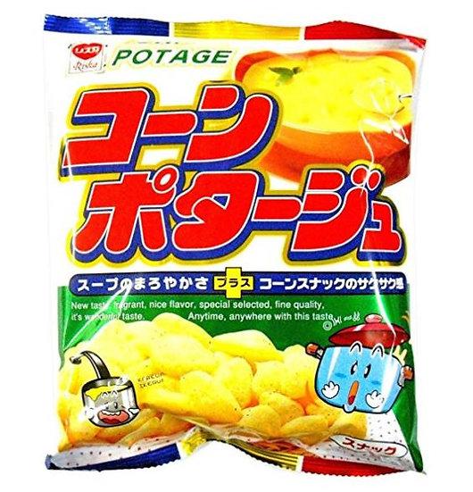 日本零食 Riska香浓玉米浓汤薯块 5包