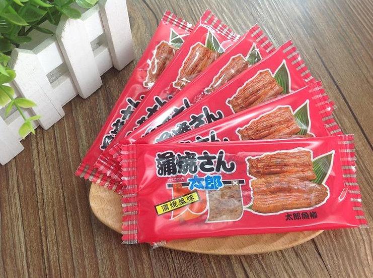 日本菓道蒲烧さん太郎芥郎芥末烤鳗鱼鱼肉干 60包