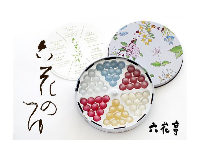 日本北海道六花亭六色酒心糖60粒送女友七夕情人节礼物酒芯糖
