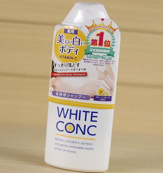 日本WHITE CONC 维C药用全身美白沐浴露 #葡萄柚香 360ml COSME大赏第一位 每单限购一瓶~!!