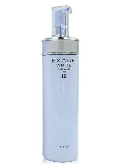 日本ALBION澳尔滨 EXAGE 焕活美白渗透乳 III 滋润型 200g
