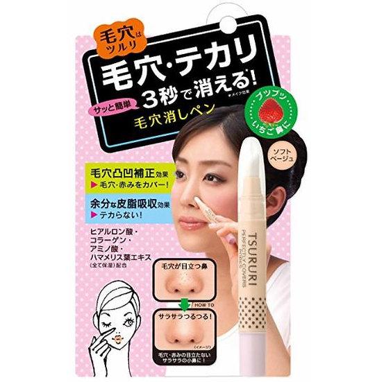 日本BCL Tsururi 毛孔遮瑕笔 完美隐形毛孔/草莓鼻