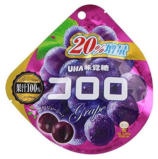 日本 UHA味觉糖 五种口味 6包