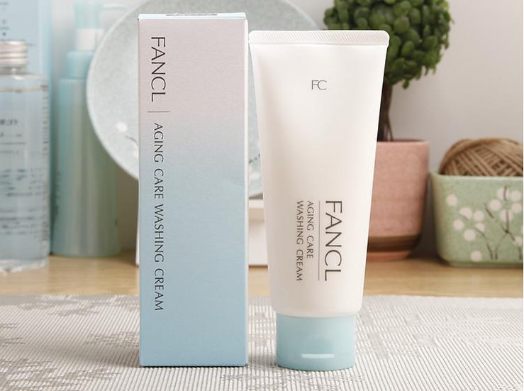 FANCL芳珂无添加新版保湿型去角质浓密泡沫清新洗面奶