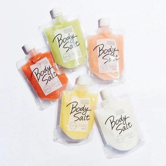 日本 Body salt 美脚Utena 果香身体美腿去角质磨砂膏 多种香味300g