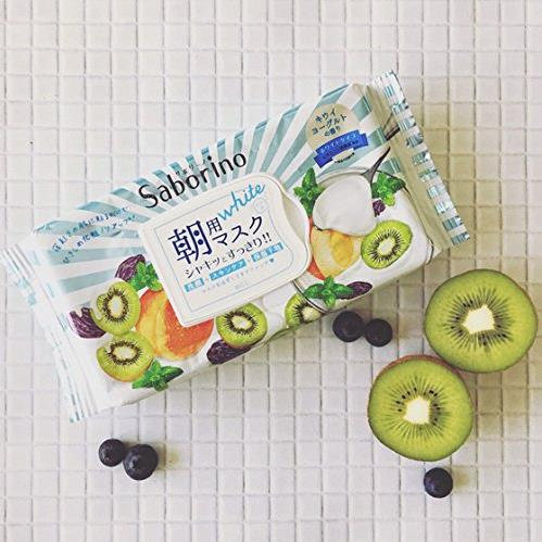 Saborino日本BCL COSME受赏第一位60秒早安懒人免洗面膜  三款可选 醒肤清洁滋养清爽护理保湿  每单限购2盒