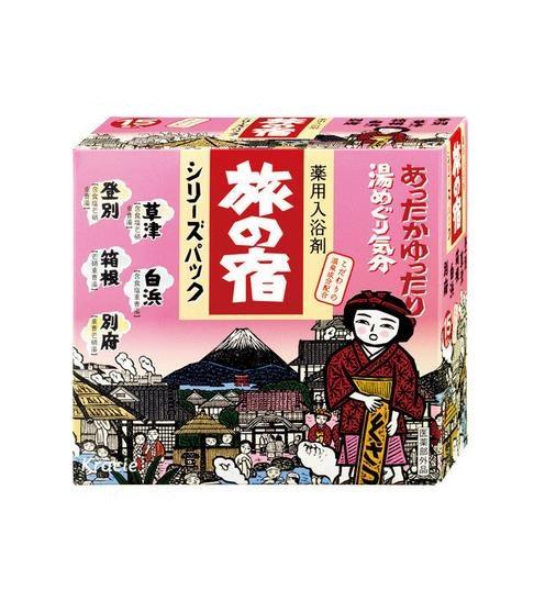日本KRACIE嘉娜宝 旅之宿系列 药用入浴剂 温泉成分配合 5种类 15包入