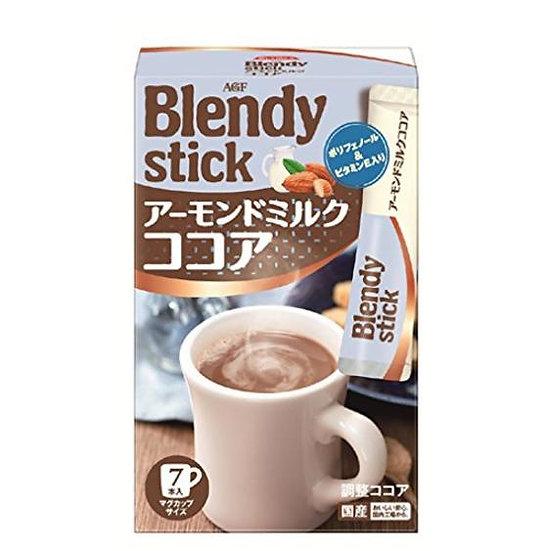 日本 AGF blendy stick 杏仁乳可可奶茶粉 6盒