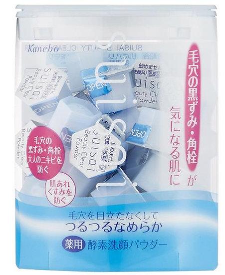 日本Kanebo 嘉娜宝 SUISAI酵素洗颜粉 去角质黑头深度清洁 32个装
