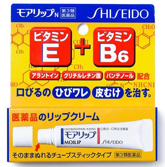 日本SHISEIDO资生堂 MOILIP 口角唇炎保湿修复滋润型润唇膏 8g