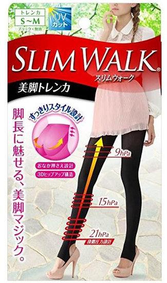日本 Slim walk 丝翎舒适透气收腹提臀抗菌防异味外出打底裤