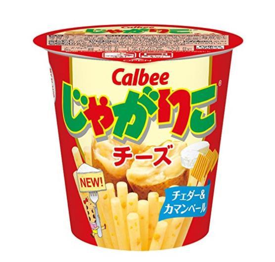 日本零食 Calbee卡乐比 薯条零食棒-土豆奶酪口味 5盒
