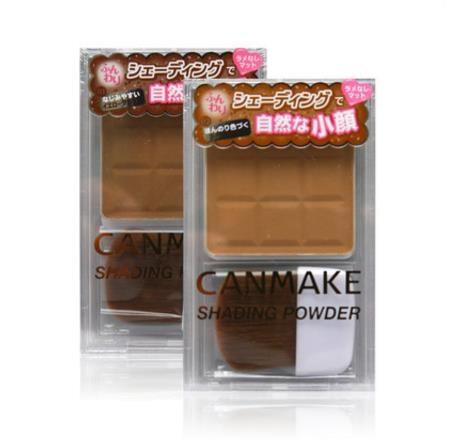 日本CANMAKE井田 巧克力全脸单色修容粉