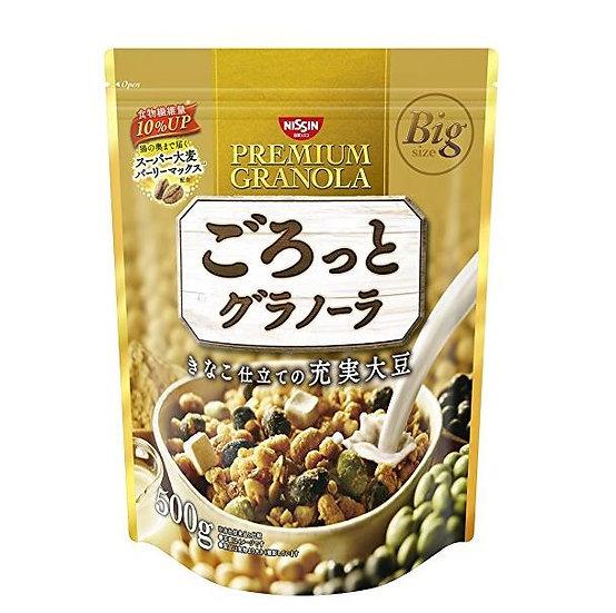 日清NISSIN 代餐速食综合果实谷物营养早餐麦片——黄豆、黑豆、绿豆