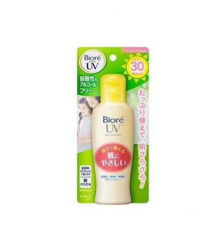 日本KAO花王 BIORE碧柔 弱酸性温和防晒乳 SPF30 PA++ 120ml