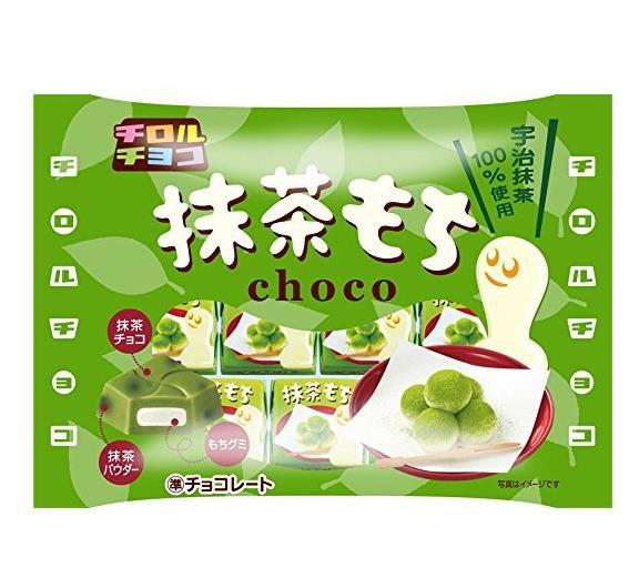 日本松尾巧克力TIROL CHOCO宇治抹茶糯米糍夹心巧克力