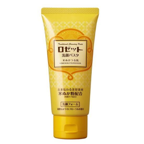 日本ROSETTE 米糠配合保湿洗面奶 120g