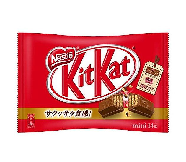 雀巢kitkat奇巧牛奶巧克力威化松脆可口14枚