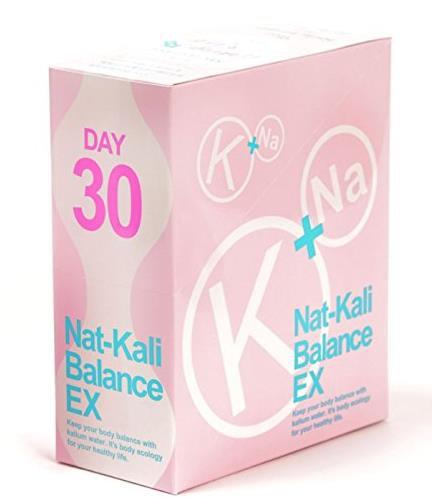 日本小粉水Nat-Kali Balance EX保持身材线条 美体健康果汁30日量